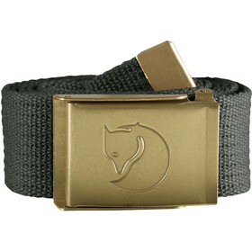 Fjällräven Canvas Ceinture en laiton 4 cm, mountain grey